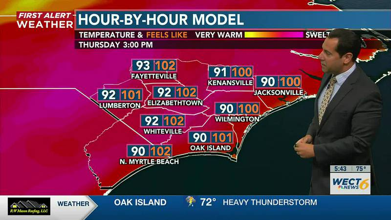 Your First Alert Forecast from Wed. morning, July 28, 2021...
