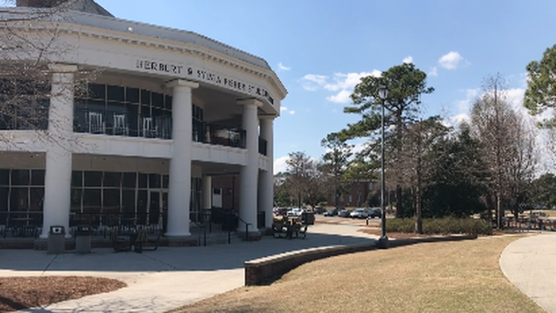 The UNCW campus is empty over spring break but will likely stay that way once break is over.