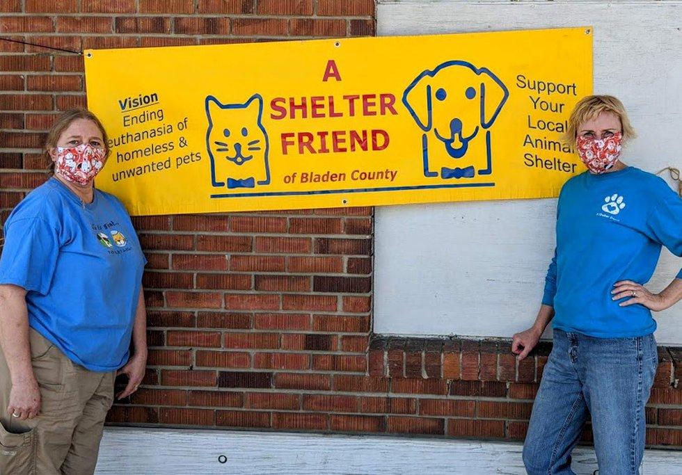 A Shelter Friend pet food drive