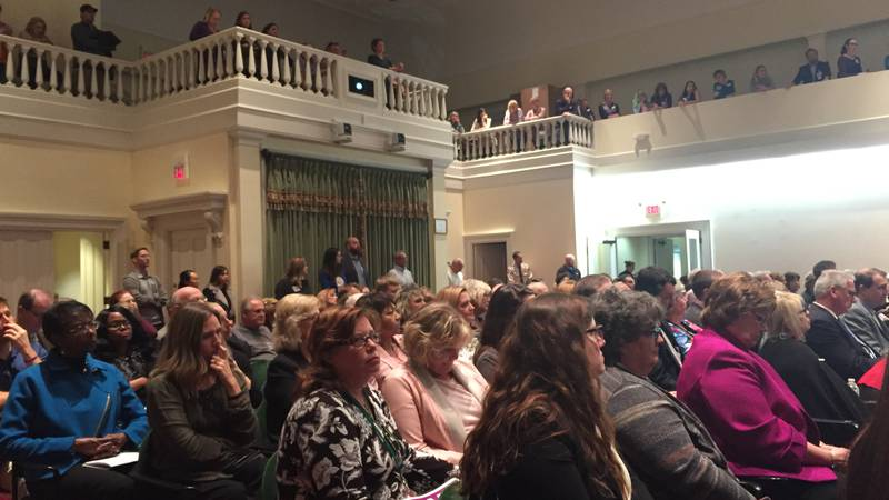 More than 225 people attended the Wilmington City Council's Jan. 8 meeting, with the crowd...