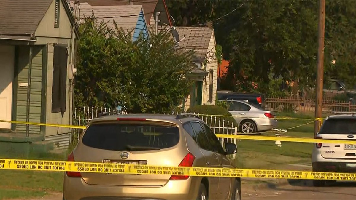 A Dallas home became a crime scene after two children were stabbed Thursday.