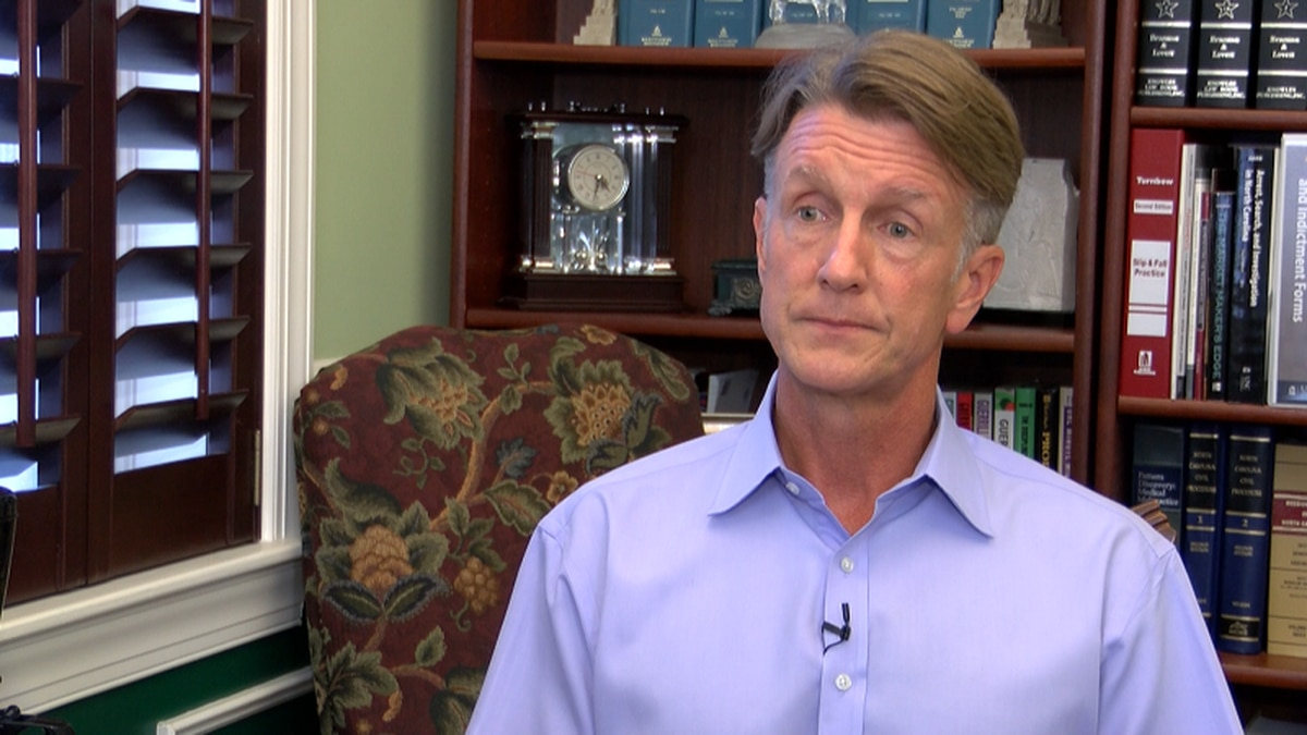 In an interview with WECT,Goolsby explained his perspective about Silent Sam's toppling by...