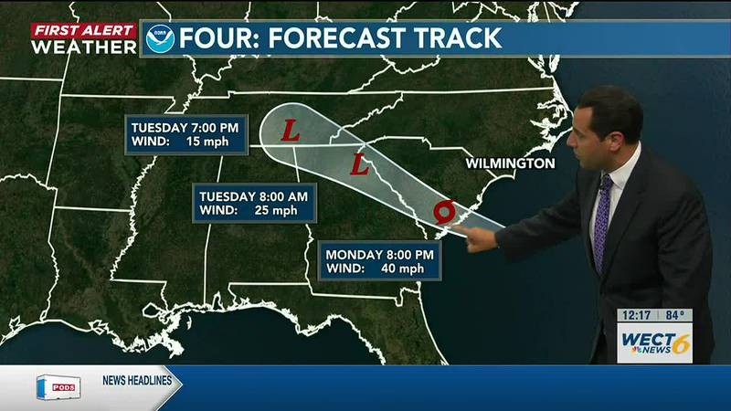 Your First Alert Forecast from Mon. afternoon, June 28, 2021...