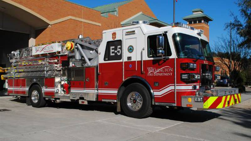 WFD Station #5 welcomes a new truck to its fleet. (Source: WFD)