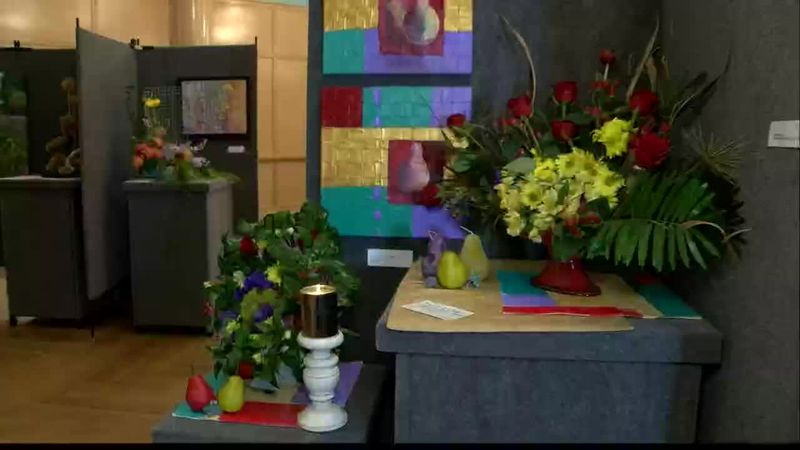 Art and The Bloom has floral creations inspired by art