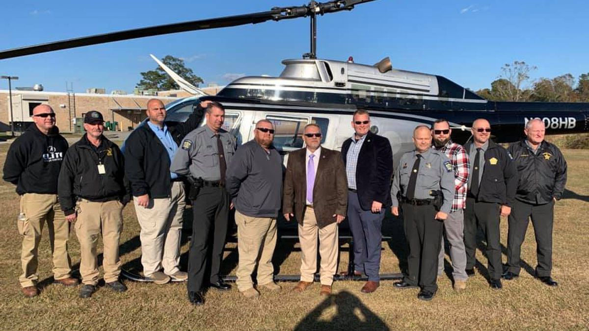 Two helicopters awarded to the Columbus County Sheriff's Office.