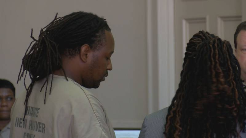 Jermaine Pompey made his first court appearance Monday morning. He's accused of killing...