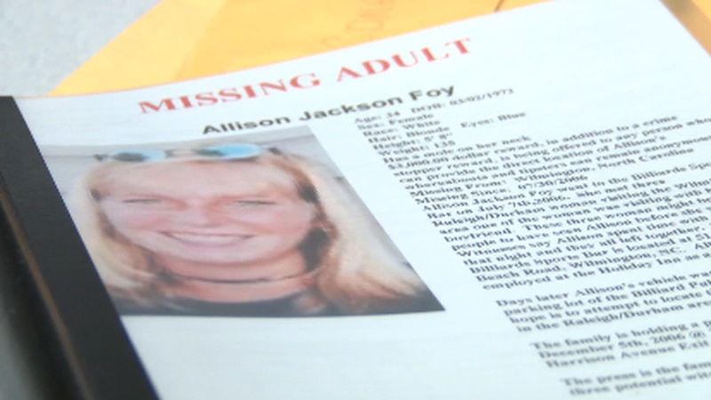 Allison Foy's family continues to fight for justice 15 years later