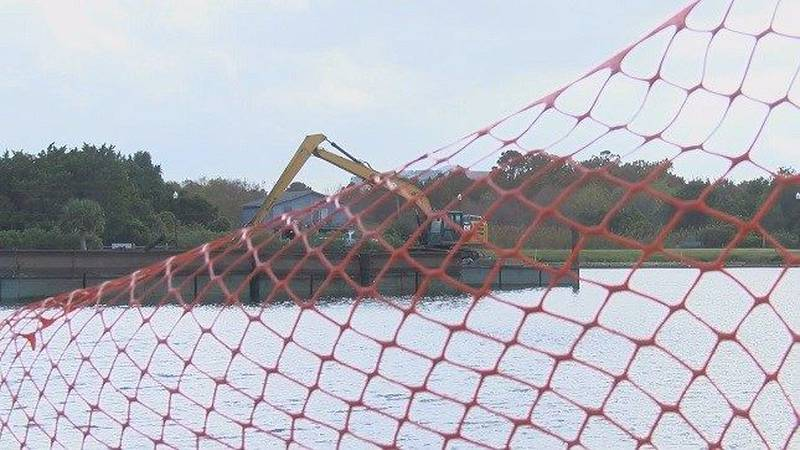The Carolina Beach Town Council plans to look at several options for their lake dredging...
