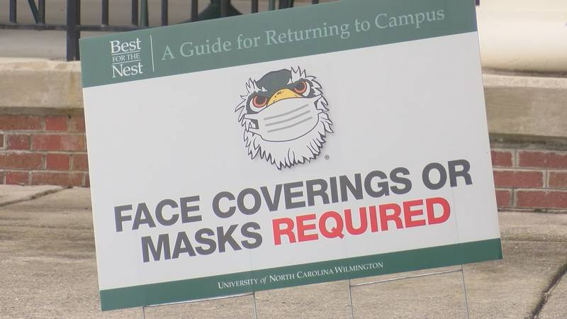 Less than a week after classes began at UNCW, the university announced a cluster in one...