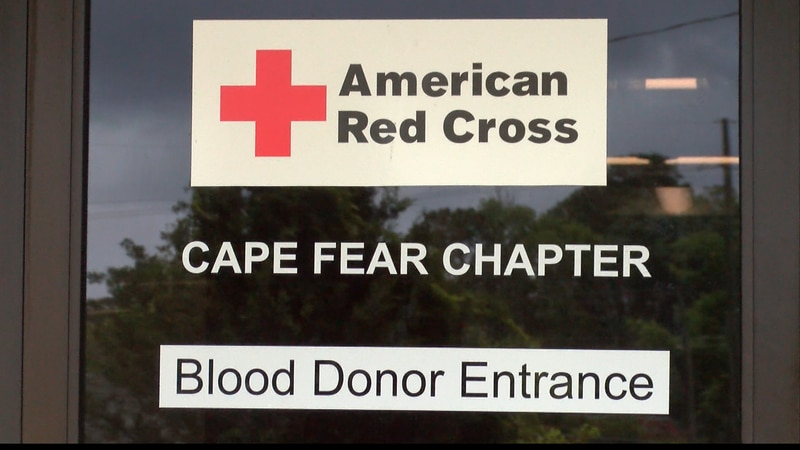 The American Red Cross of the Cape Fear is facing a blood shortage.