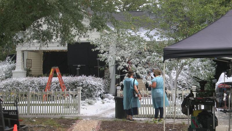 Snow in September: Hallmark Channel's 'USS Christmas' was filmed last year in Wilmington