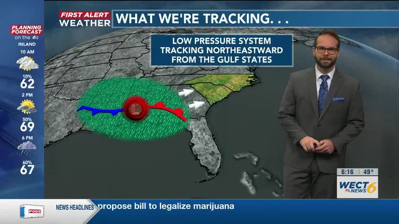 Your First Alert Forecast from Sat. morning, Apr. 24, 2021