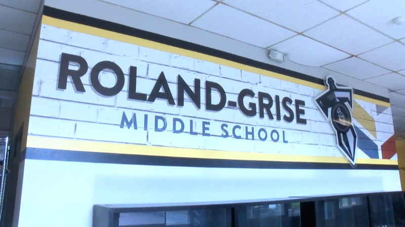 Roland Grise gets a new look for the new school year. (source: WECT)
